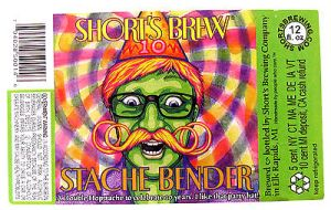 shorts-brewing-stache-bender-beer-label-mi-12oz