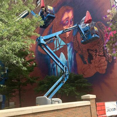 Bright Walls Mural Festival –2019