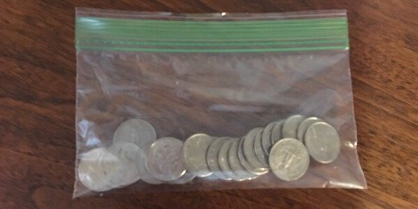 Why I Travel With a Bag of Quarters