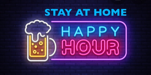 Plan a Stay At Home Happy Hour