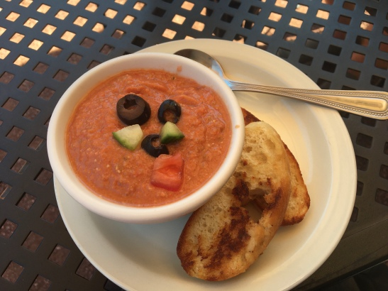 Gazpacho at the Greenbush Anex